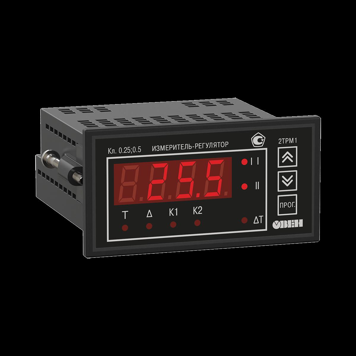 Универсальный измеритель-регулятор восьмиканальный овен трм выполняется в корпусе щ4 восемь универсальных входов для подключения от 1 до 8 датчиков разного типа в любых комбинациях, что позволяет одновременно измерять и контролировать несколько различных физических величин температуру, влажность, давление и др.